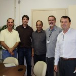(Right) Alexandre Swarowsky, (center) Dr. Khosro Khodayari, (left) Dr. Dalvan Heinert.