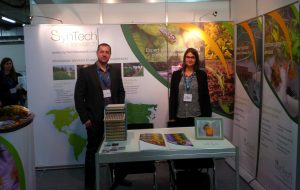 Eric Ythier and Emmanuelle Noël manned the SynTech stand at SETAC Europe 2014