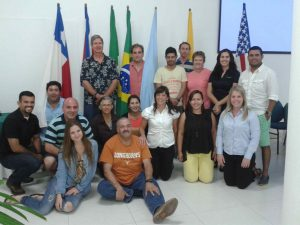 Participants at the SynTech Research Latin America workshop in Colombia