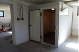 Facilities including cold room for sample storage