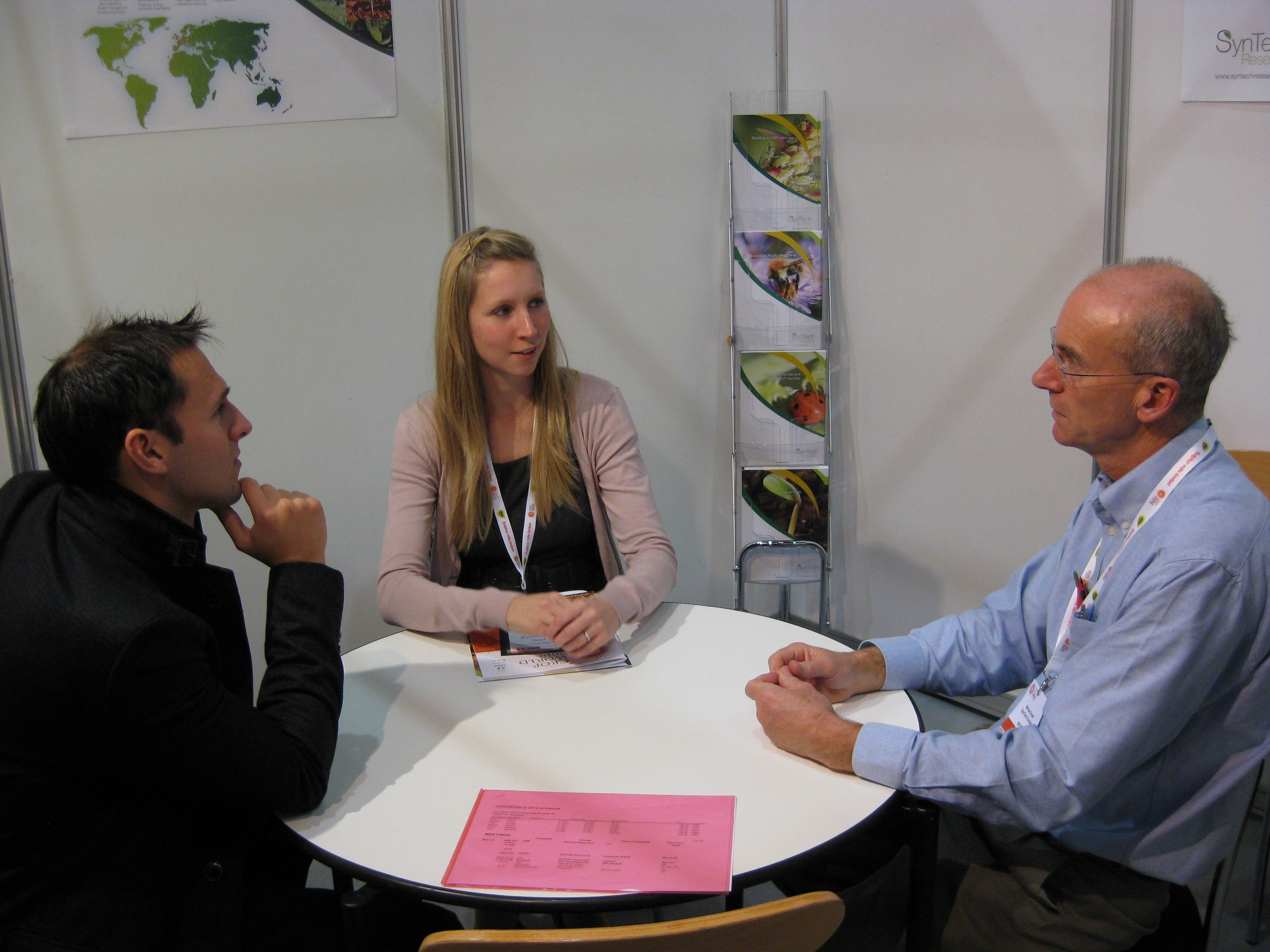 SynTech Specialist Services launched at CropWorld 2010