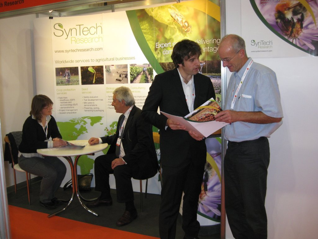 SynTech Research at CropWorld November 2011