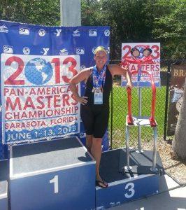 Ann Sherlock wins medals at Pan-Am Masters Championship