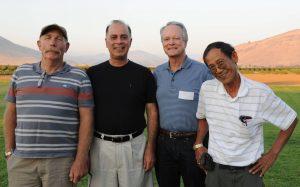 Pictured left to right: Kip Anderson, Dr. Khosro Khodayari, Dr. Phil Grau and Dr. Ben Rodriguez