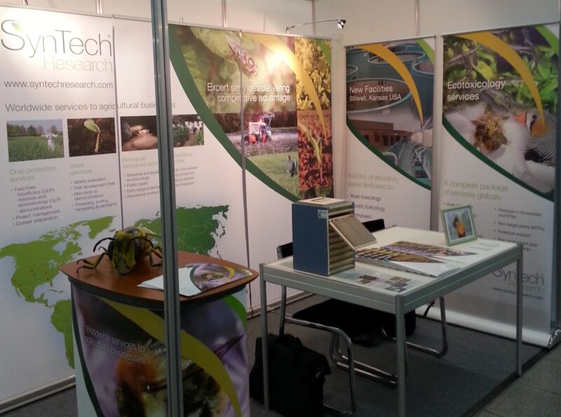 SynTech promotes its services at SETAC Europe