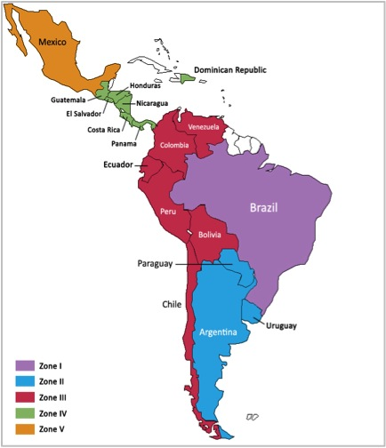 Political Map Of America 2016.Syntech Reorganizes Zonally To Manage Expansion In Latin America