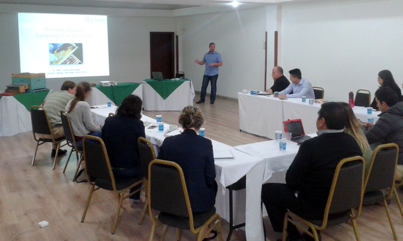 Bee Health Unit enhances pollinator expertise in Latin America