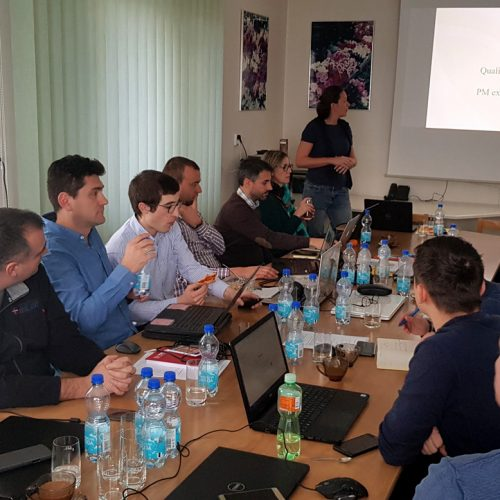 GEP training for Eastern EU staff